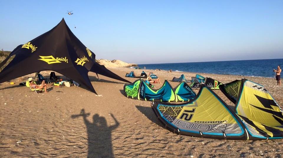 kiteboarding Cyprus - Paramali beach