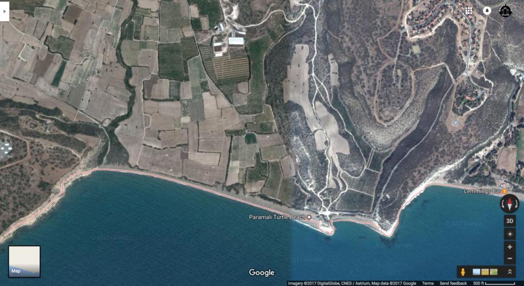 Paramali kite beach