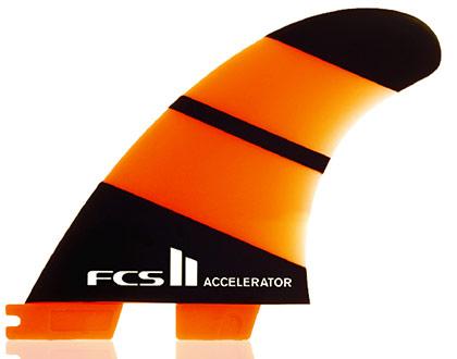 FCS II Accelerator Neo Glass Tri : Quad Set